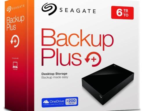 Seagate Backup Plus Portable mit 6TB + 200GB Cloud Speicher statt 205,97€ für 177,90€